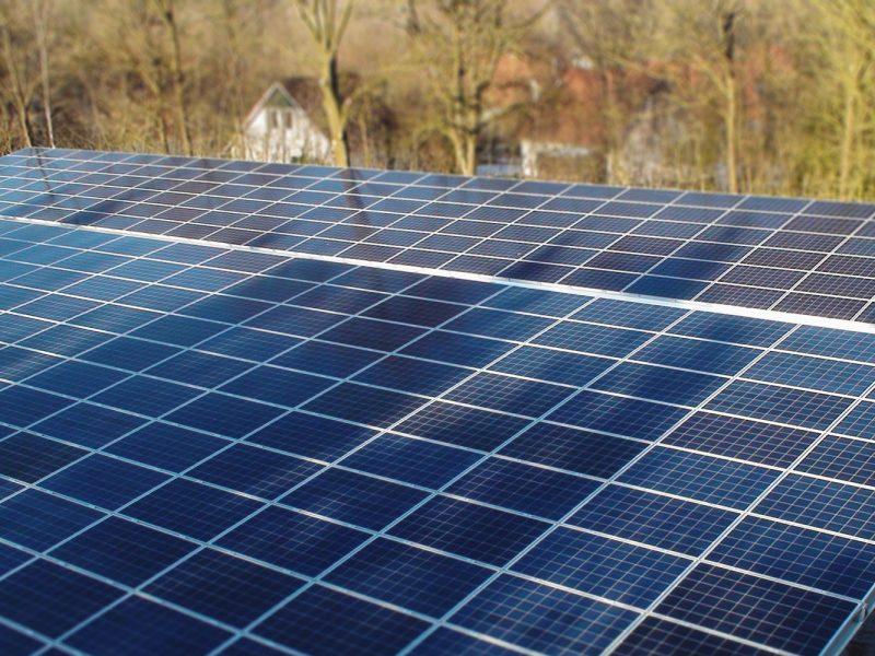 Solar carport Vakantiepark Het Drentse Wold