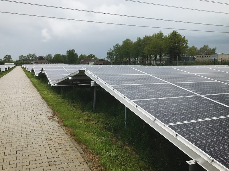 Overeenkomst voor onderhoud Zonnepark de Lichtkiem