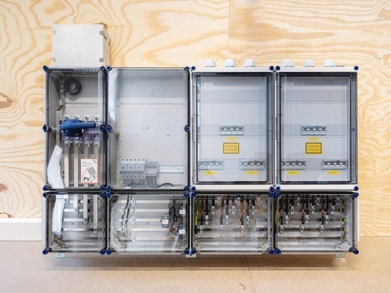 Engineering van diverse PV verdeelinrichtingen